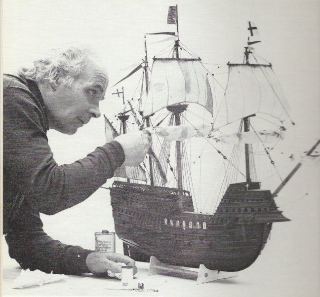 A theoretical model of the Mary Rose commissioned by B.P.