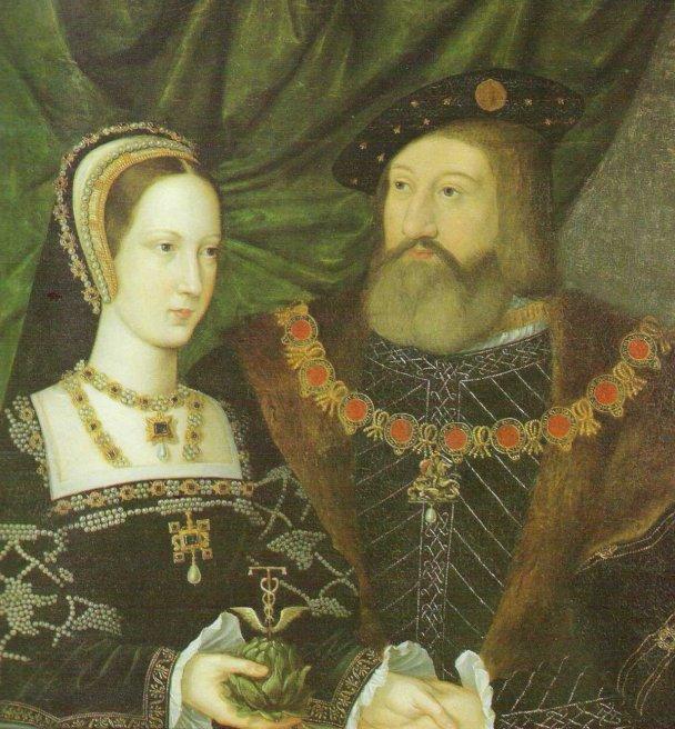 The ship was named for Mary Tudor.