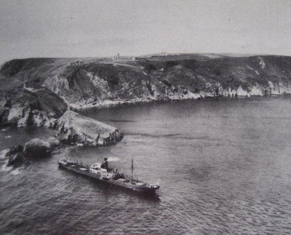 The Carmine Filomena wrecked in 1937.