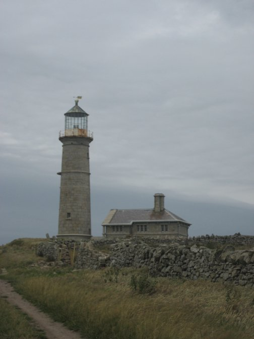 The Old lighthouse close to Shutter Rock.