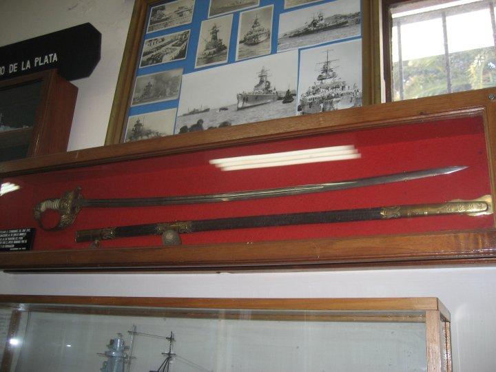 Langsdorff's sword.