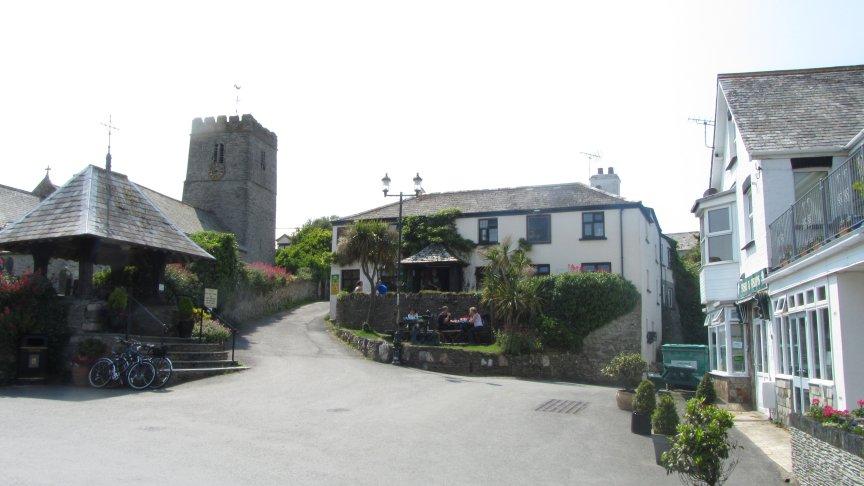 The Ship Aground Pub.