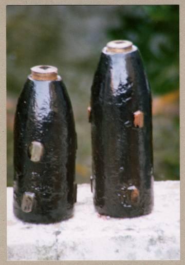 7 & 9lb field gun RML shells