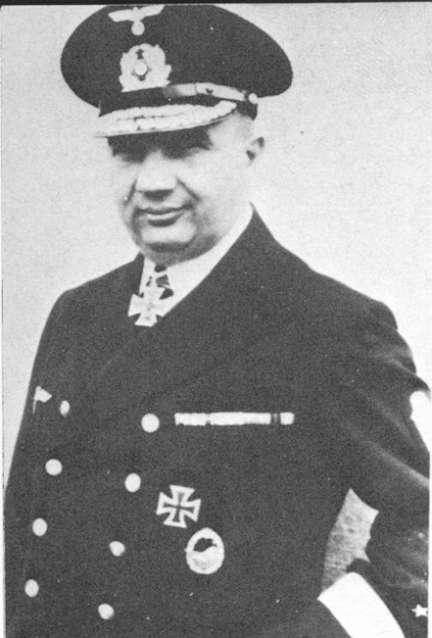 Fregattenkapitan Erich Bey, Senior Officer 4th Destroyer Flotilla. Survived the Narvik campaign only to be lost when serving on the Battleship Scharnhorst.