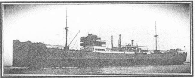 The Swedish Ore Carrier Strassa.