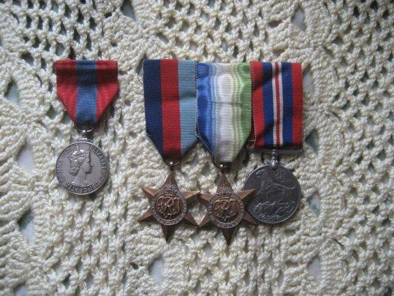 Jim's medals