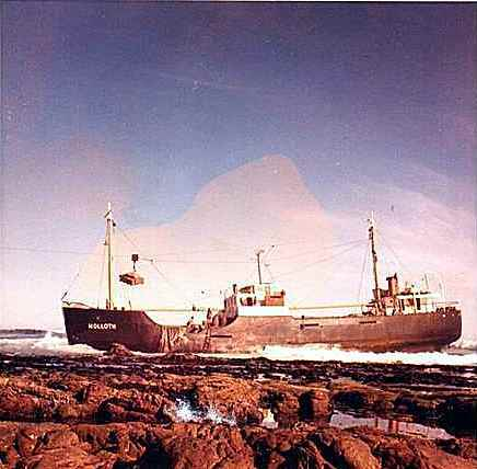 This shot of the Nolloth was taken by Stan Cooke's Dad. (Below)