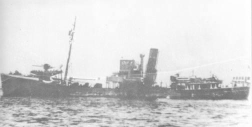 The Kingston Coral, sister ship to the Kingston Alalite.