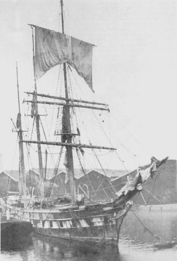 This is not the Oregon but the Cutty Sark. She was very similar to the Oregon and is seen here loading at Chile.