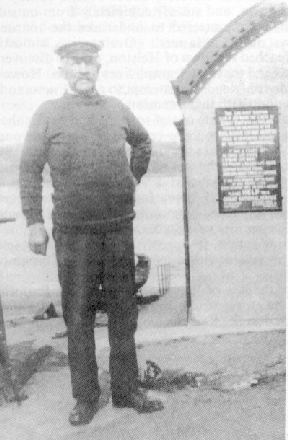 Joseph Hendy James, who broke the news of the dreadfull wreck, on March 9th 1891.