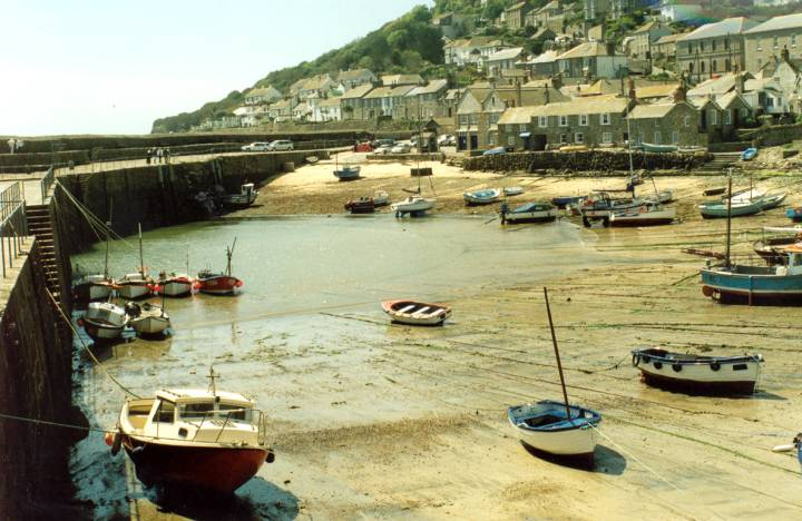 The Village of Mousehole.
