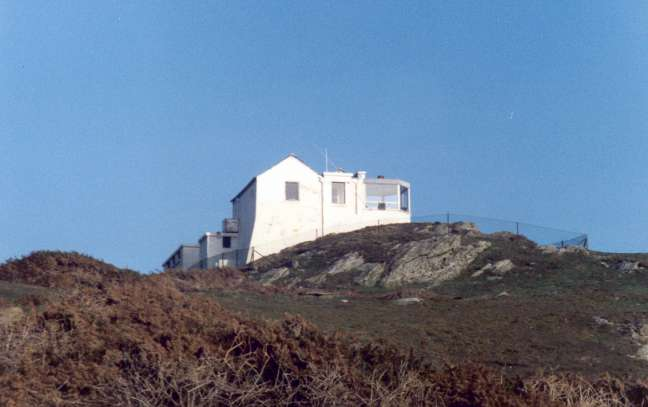 The old Coastguard lookout at Prawle.
