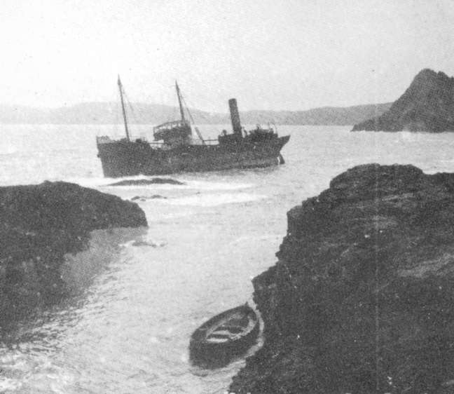 The Ida wrecked in 1930.