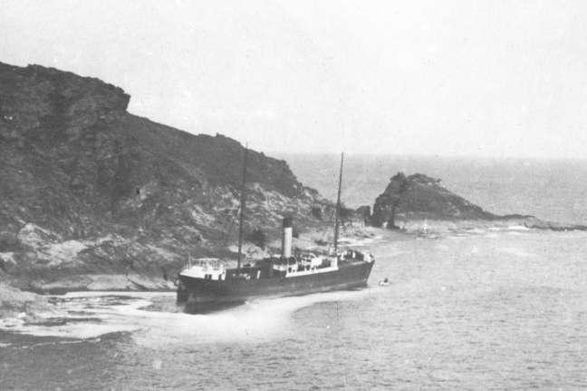 The Maria wrecked on Langler Rocks.