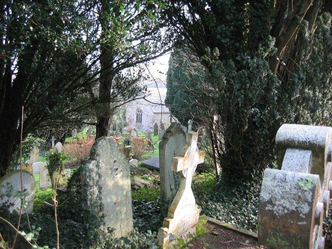 Mylor Churchyard.