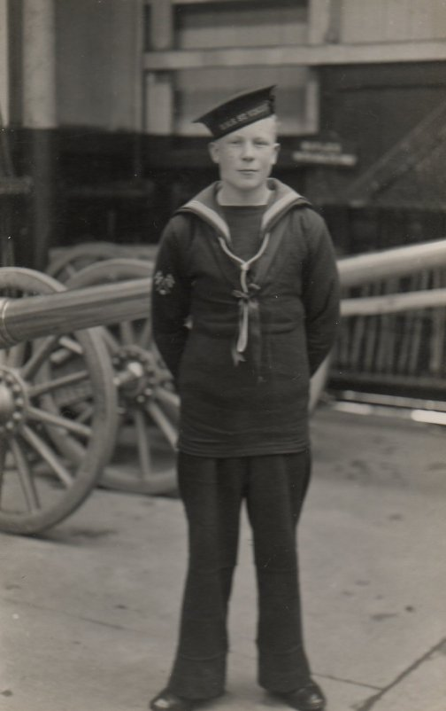 Ralph at HMS St. Vincent