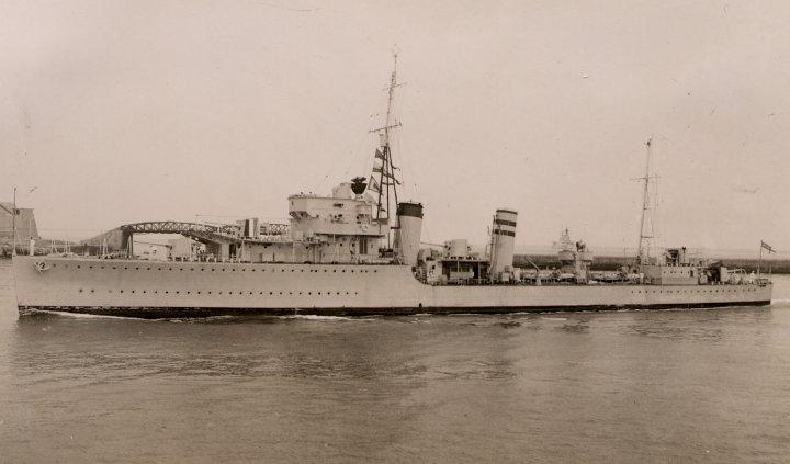 HMS Hardy-pre WW2