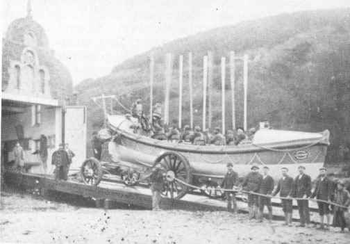 The Salcombe Lifeboat.