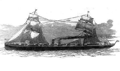 The S.S.Schiller ( from a drawing by Gibson ).