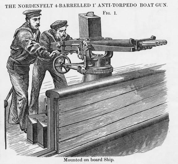 The machine gun round was a tubular