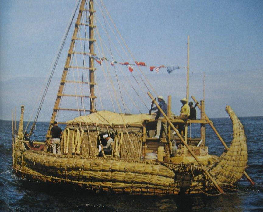 Thor Heyerdahl's Ra.