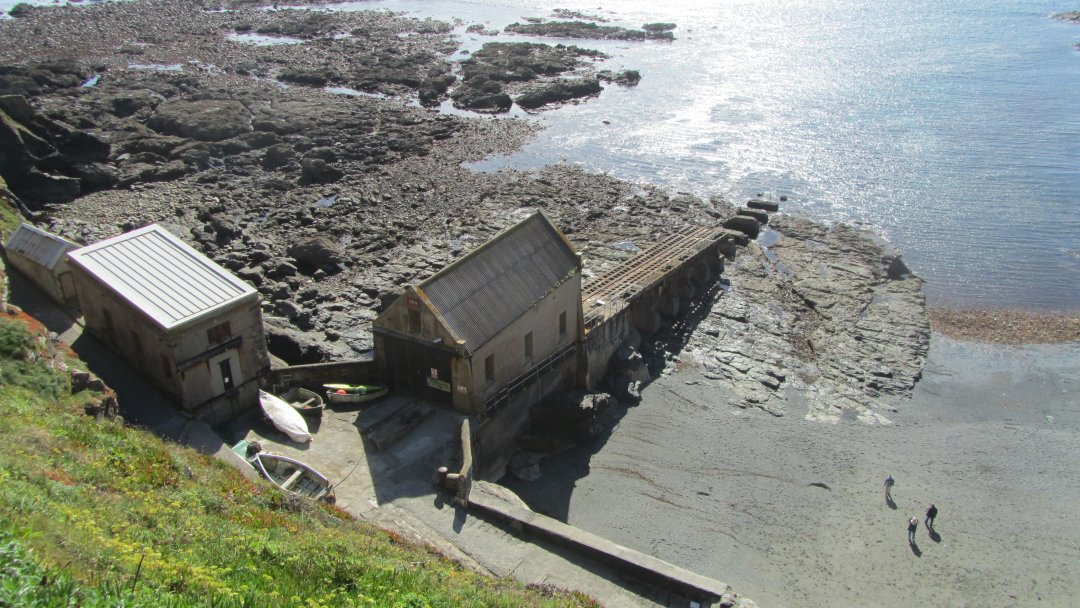The Lifeboat station today.
