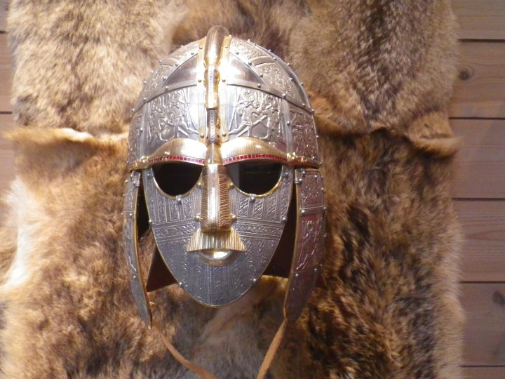 The iconic helmet