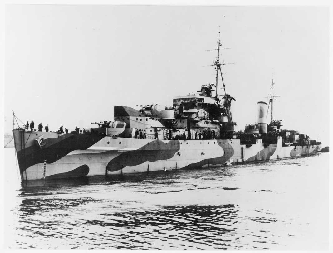 The cruiser Charbydis