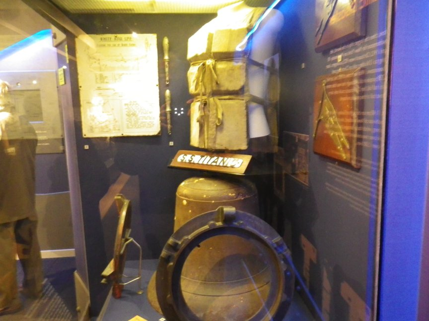 Some of the many artifacts in the museum.