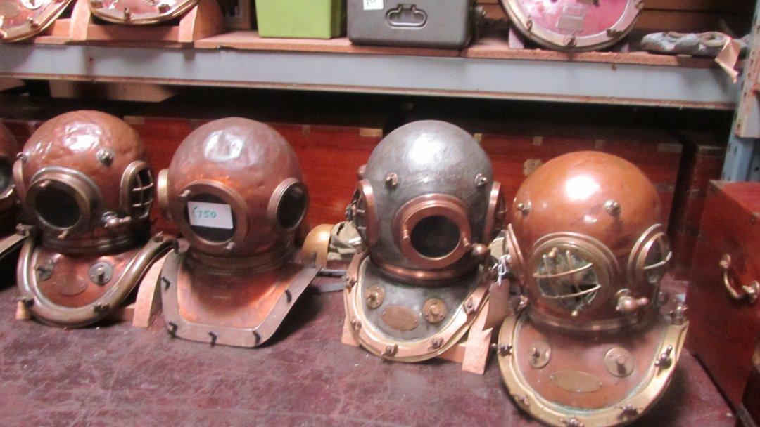 My old helmets.