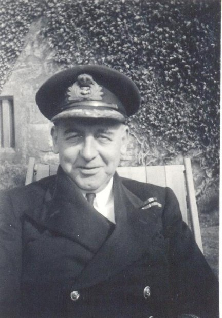 Capt.Frederic Thorton Peters. Photo courtesy of Sam McBride.
