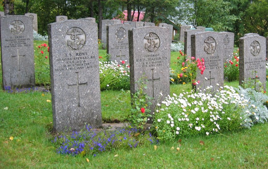 Some of those who died, were buried in a graveyard nearby.