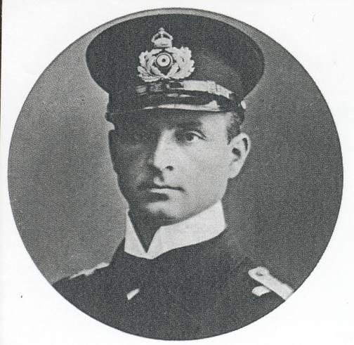 Leutnant Otto Weddigen.