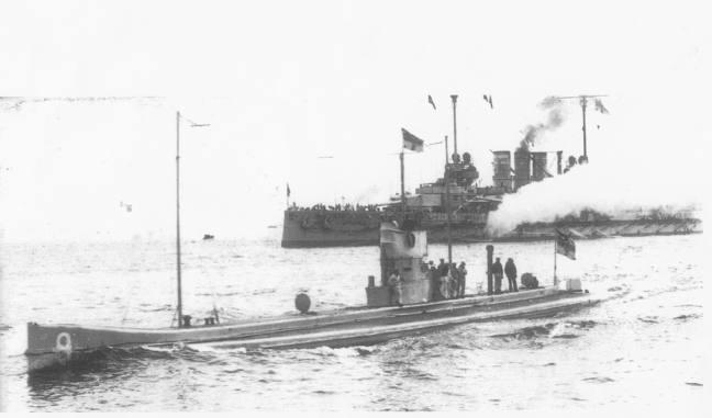 The Submarine U9