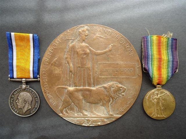 Stoker William Wood Medals.