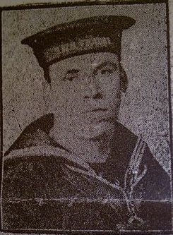 Stoker William Wood from Poolstock, Wiggan who died in the Hampshire tragedy.