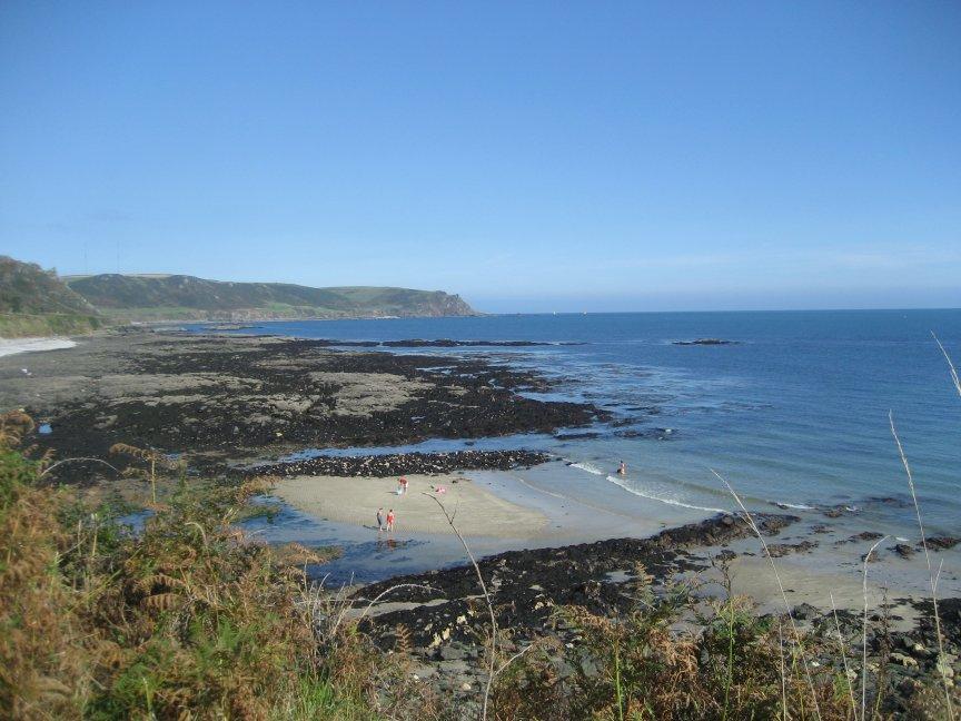 The beaches near Landing Cove.